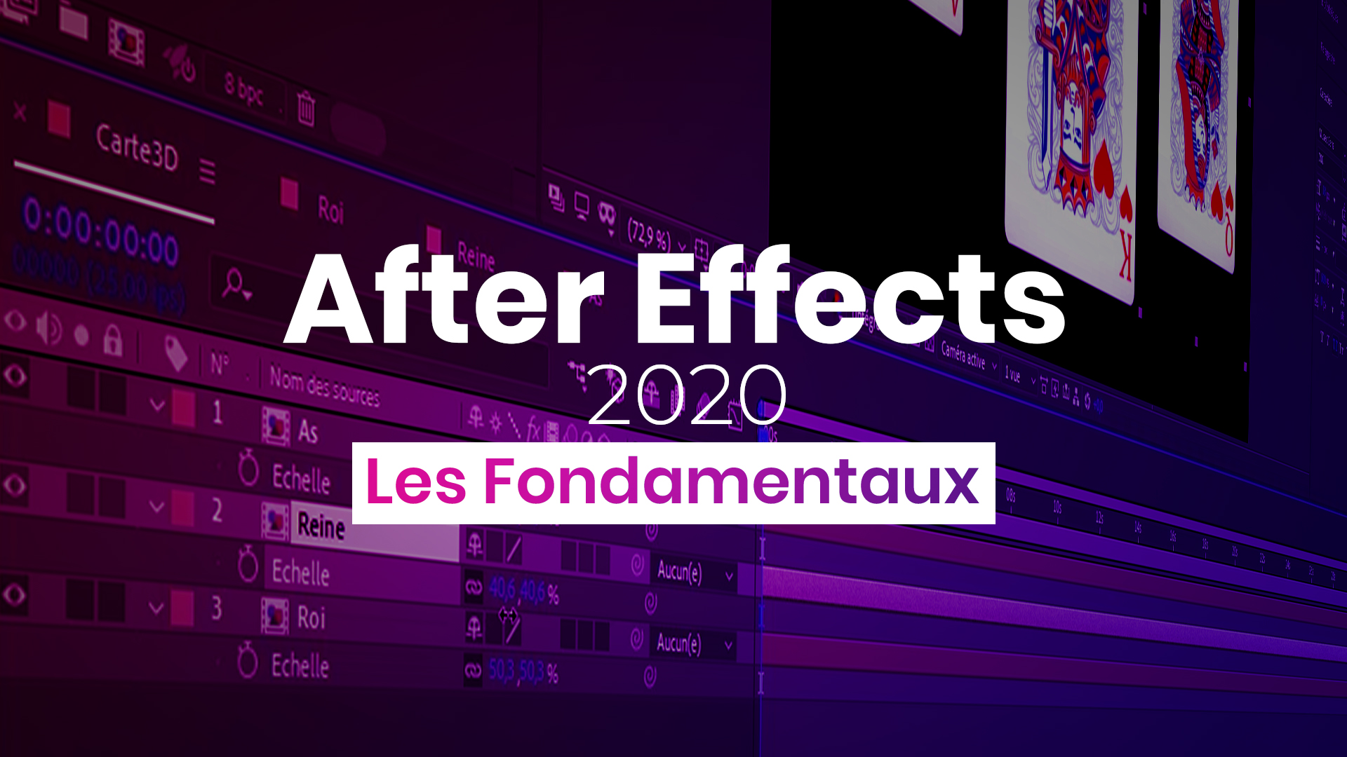 Apprendre Adobe After Effects 2020 - Les fondamentaux