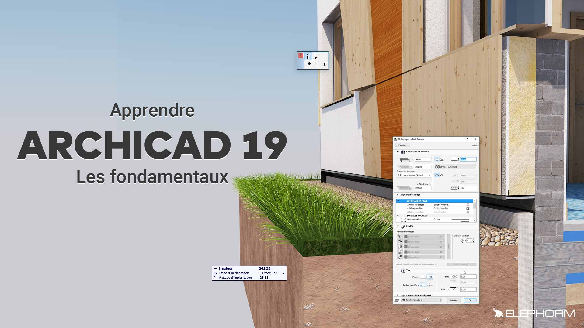 Apprendre Archicad 19