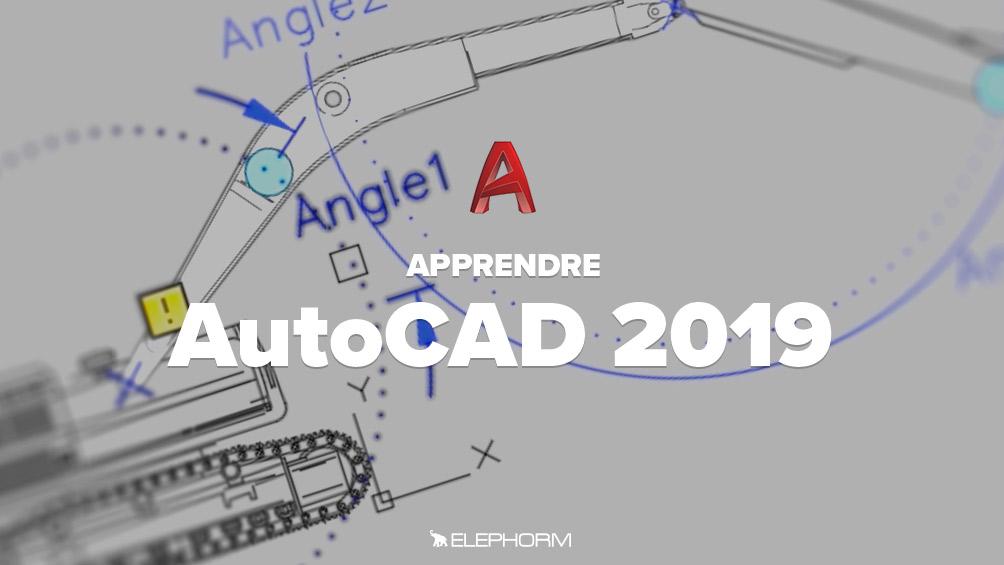Nouveau Apprendre AutoCAD 2019 IC-82