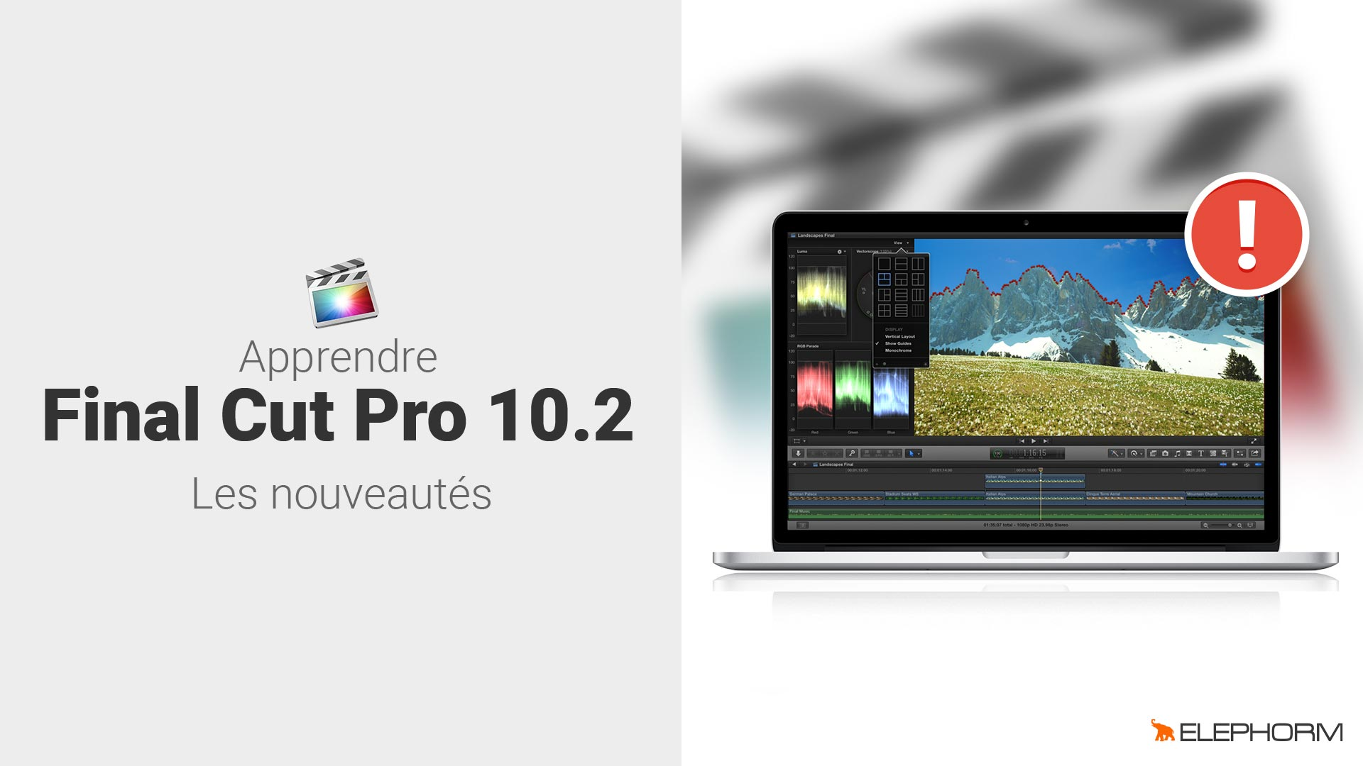 Apprendre Final Cut Pro 10.2