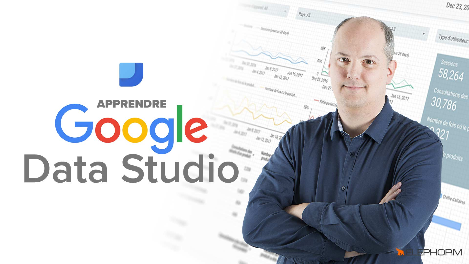 Apprendre Google Data Studio