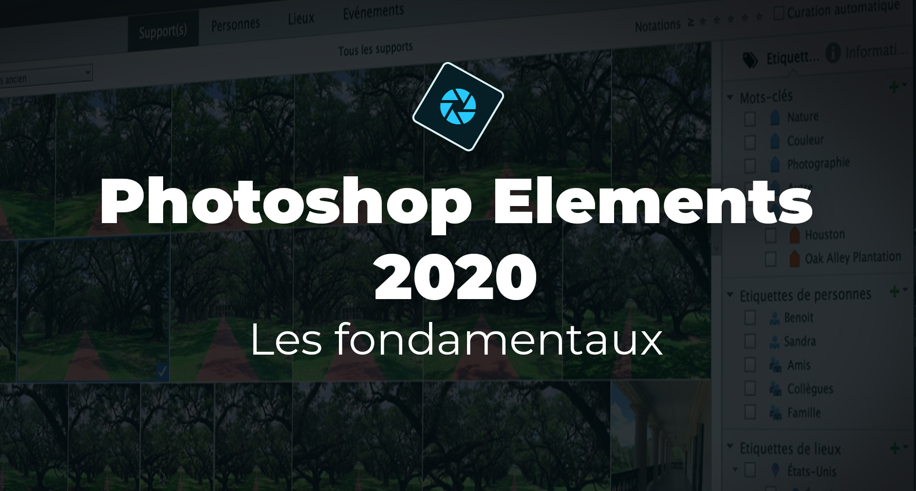 Apprendre Photoshop Elements 2020 - Les fondamentaux