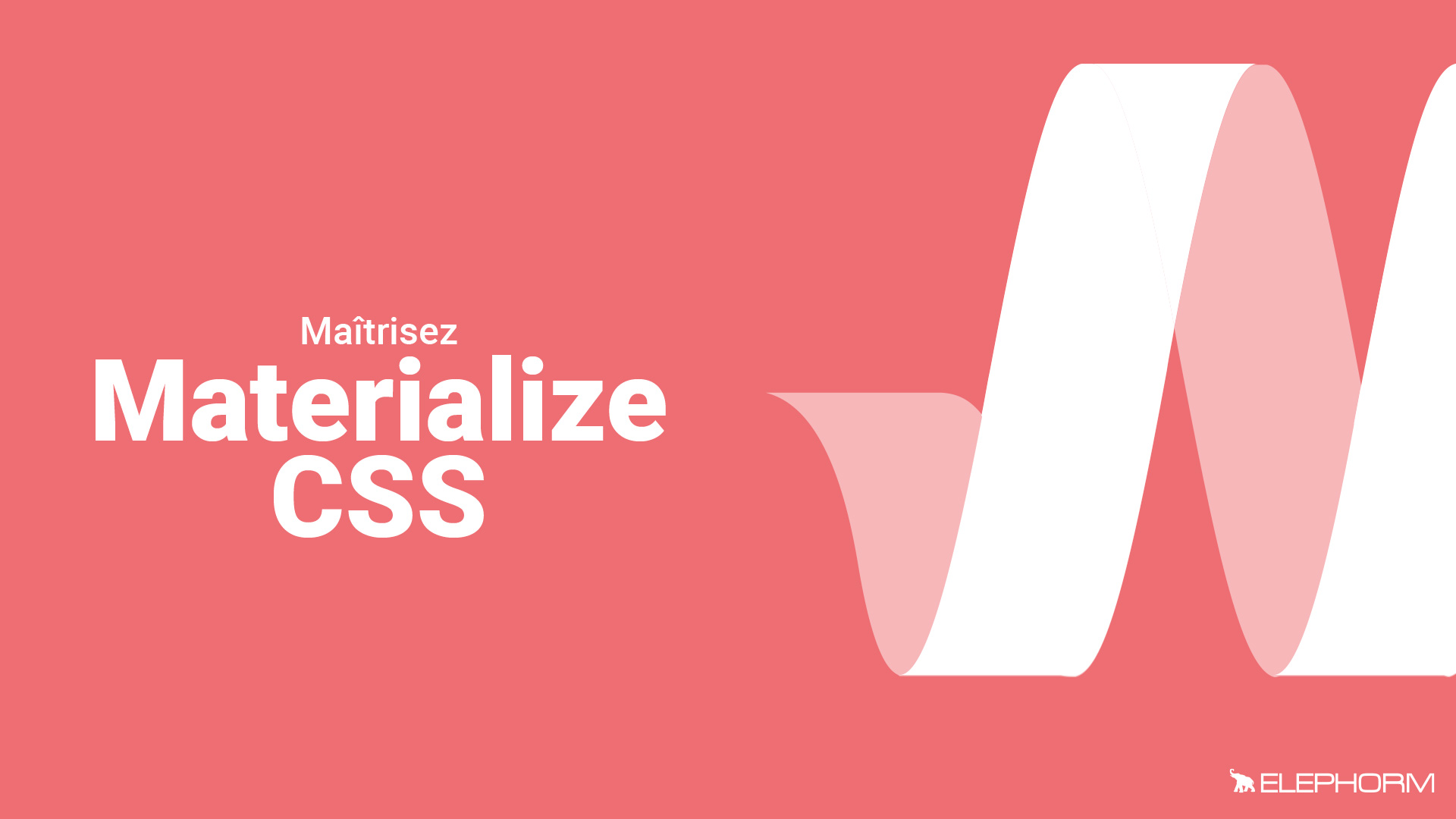 Maîtriser Materialize CSS