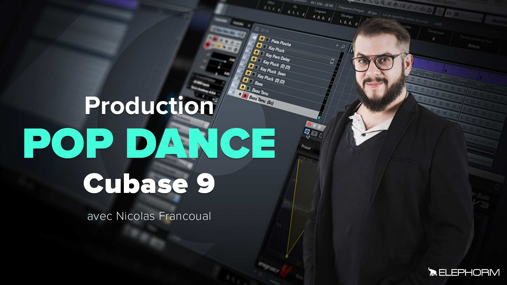 Production Pop Dance avec Cubase 9