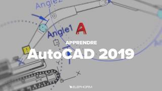 Apprendre AutoCAD 2019