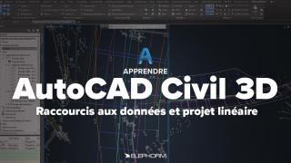 Apprendre AutoCAD Civil 3D
