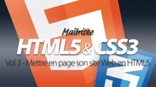 Apprendre HTML5 et CSS3 / Part 3
