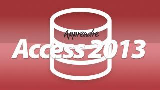 Apprendre Microsoft Access 2013