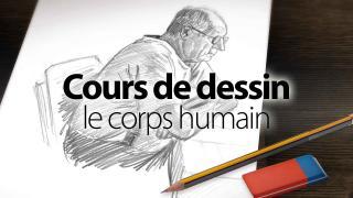 Cours de dessin : le corps humain