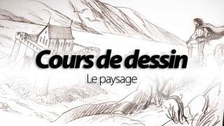 Cours de dessin : paysages, perspectives et décors